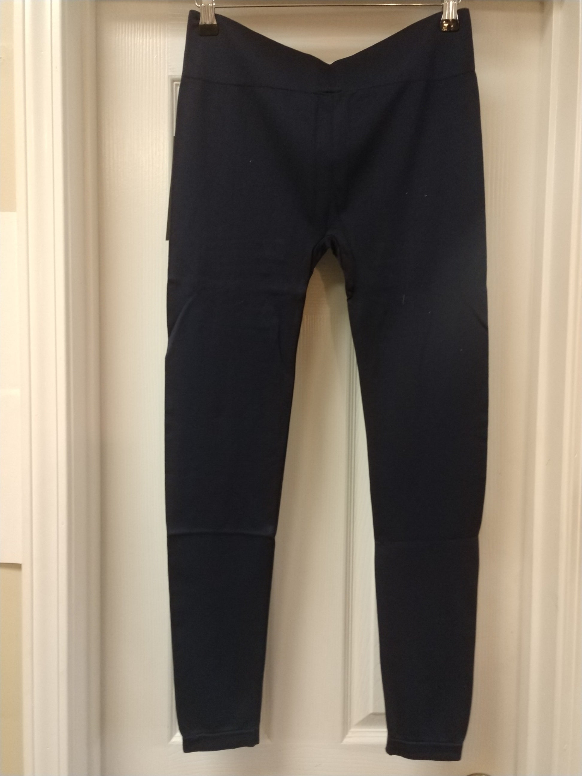 Black Wide Waistband Full Length Plus Size Legging