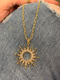 Jennifer Thames Originals Sunburst Short Necklace