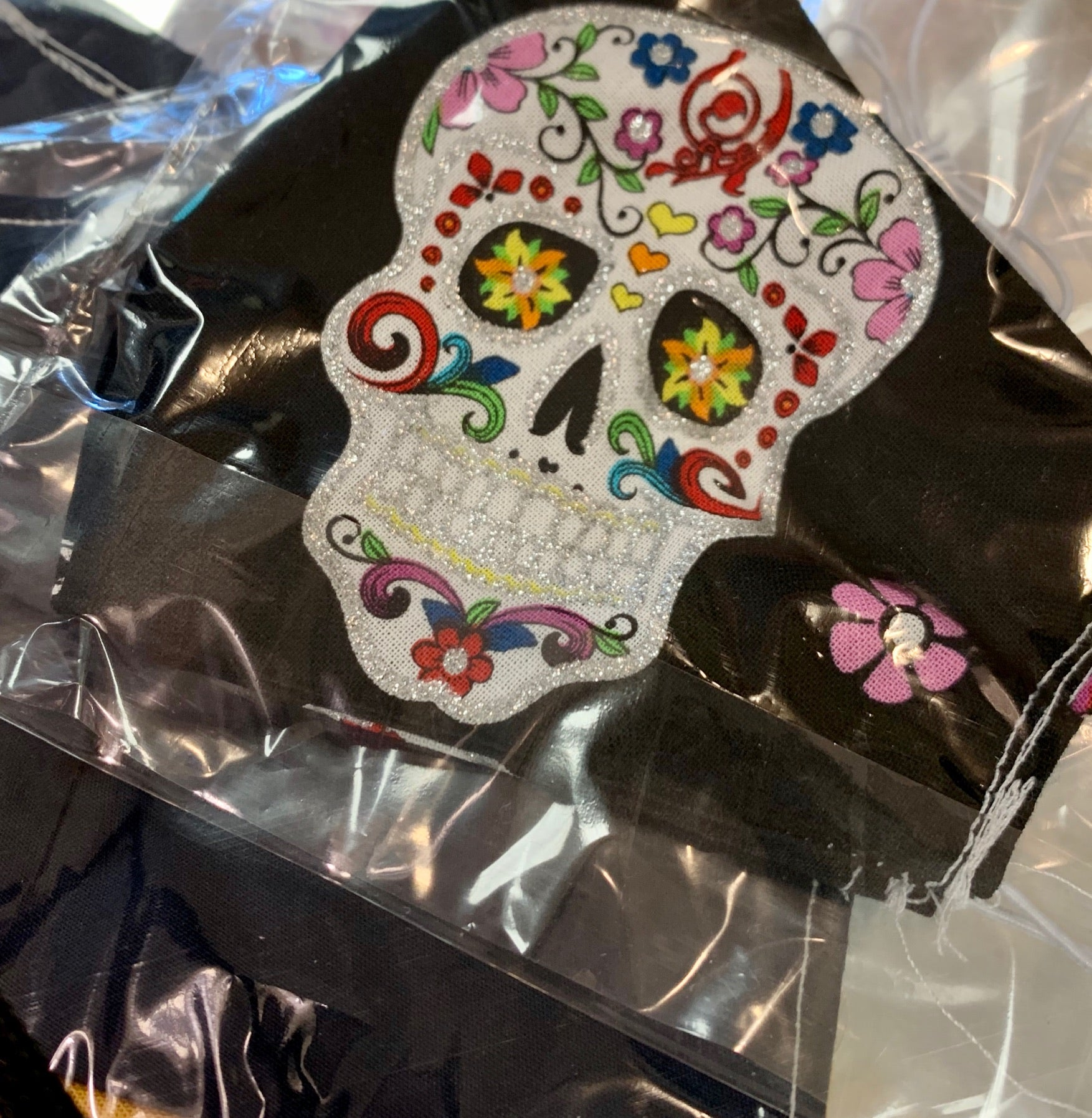 Ladies Sugar Skull Mask