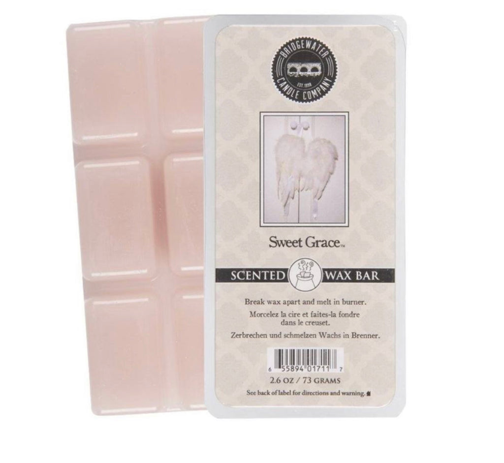 Scented Wax Bar Melts in Sweet Grace Fragrance