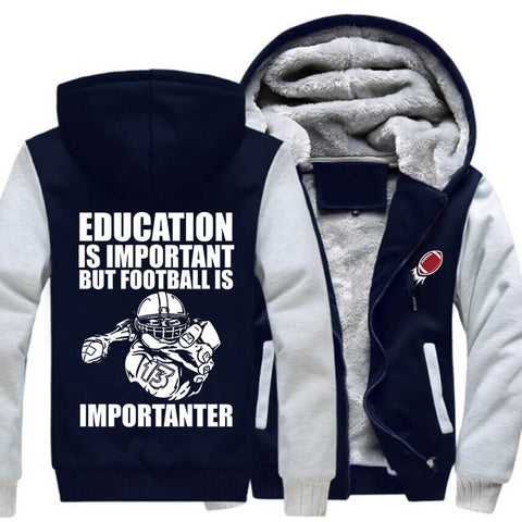 American Football Fan JACKET! - Football is Importanter - ON SALE- Free Shipping | Hoodies