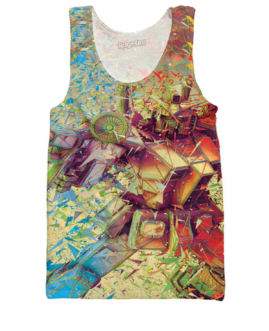 3D Transformers Limited Edition Red Tank Top | Tank Tops