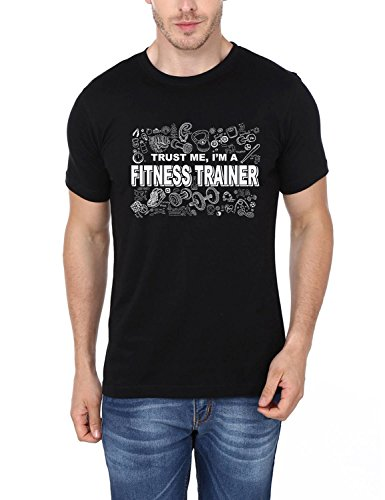 Trust Me I'm A Fitness Trainer Printed Tshirt