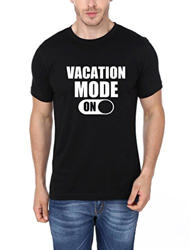 Mopixie Men's Short Sleeve T-Shirt Vacation Mode On