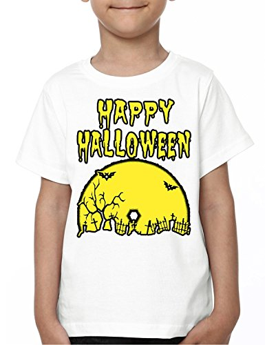 Mopixie Happy Halloween Kids Boy Girl T Shirt