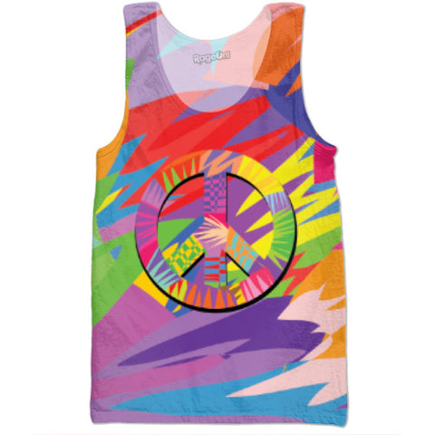 Give Peace A Chance By Technodrome1 | Tank Tops