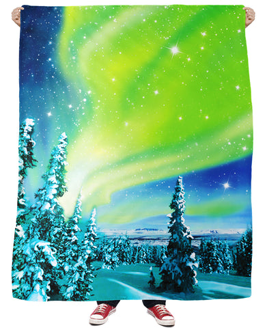 Arctic Nights Fleece Blanket | Blankets