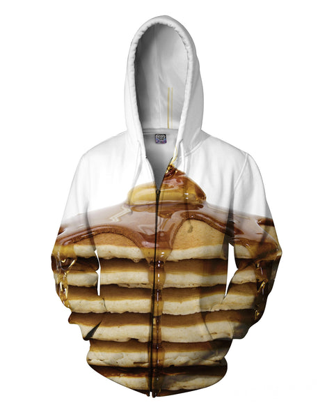 Pancake Stack Zip-Up Hoodie | Hoodies