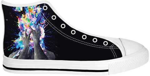 Artistic Bomb White Sole High Tops | Shoes HighTop WhiteSole