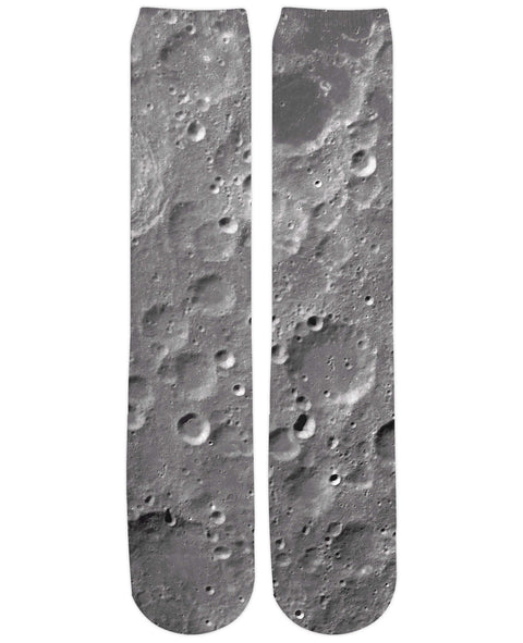 Moon Surface Knee-High Socks | Knee-High Socks