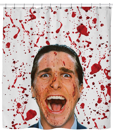 American Psycho Shower Curtain | Shower Curtains