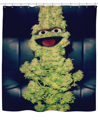 Oscar the Nug Shower Curtain | Shower Curtains