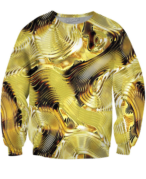 Dripping in Gold Crewneck Sweatshirt | Sweatshirts