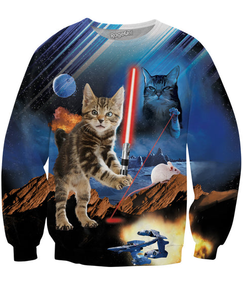 Return of the Kitten Crewneck Sweatshirt | Sweatshirts