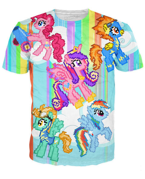 Digital Pony T-Shirt | T-Shirts