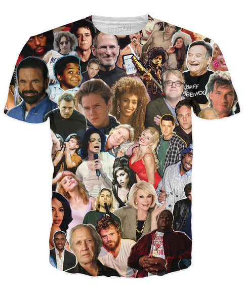 Dead Celebrities Paparazzi T-Shirt | T-Shirts