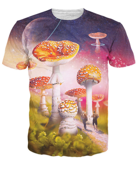 Journey to Shroomland T-Shirt | T-Shirts