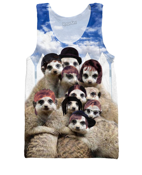 Little Rascals Meerkats Tank Top | Tank Tops