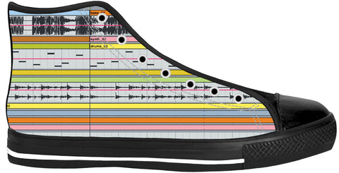 Ableton Live Black Sole High Tops | Shoes HighTop BlackSole