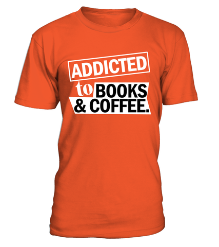 Aaddicted to books and coffee | Tees