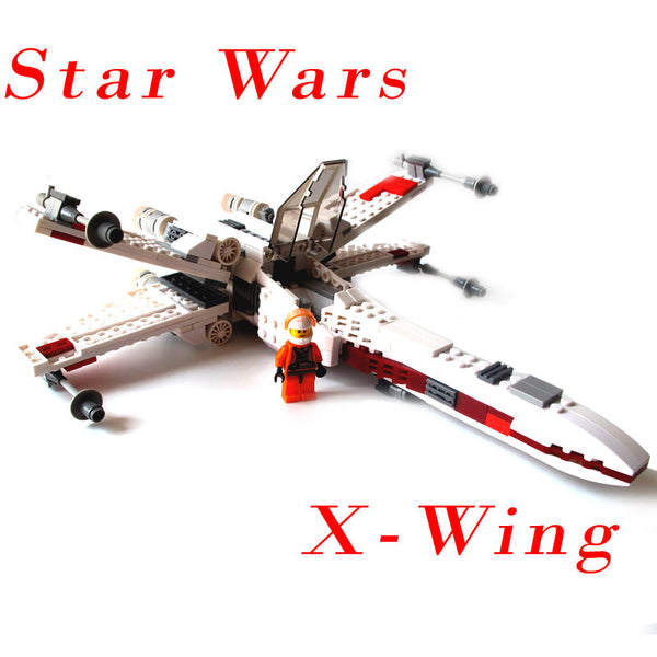 Leyi 3813 Star Wars X-Wing Fighter Blocks X-Wing Starfighter Bricks Educational Toys Model Building Kits Compatible With Legoe | Blocks