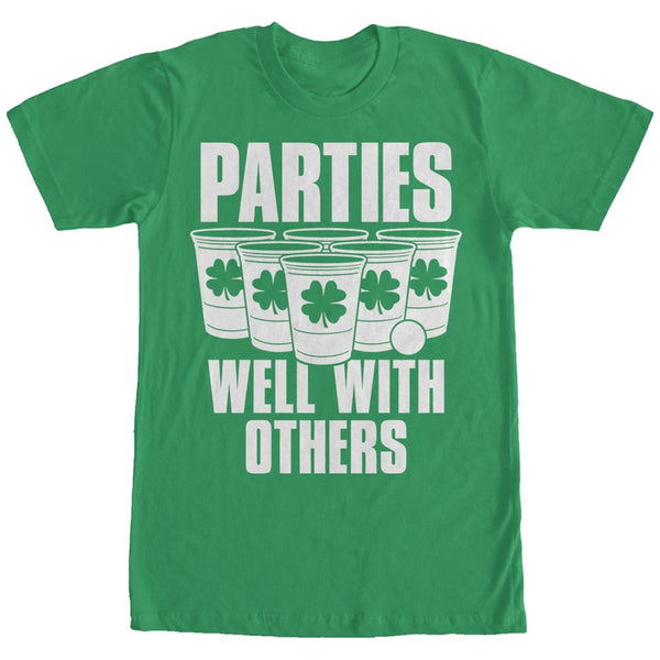 St Patricks Day Parties Well Men L Basic Tee-L | Tees