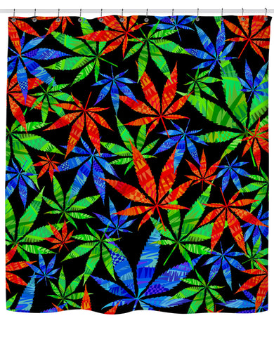 Weeds 3D Shower Curtain | Shower Curtains