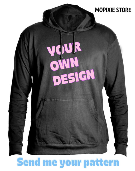 Customized hoodie t shirt Personalized Printed designer logo men /women Unisex Sweatshirt