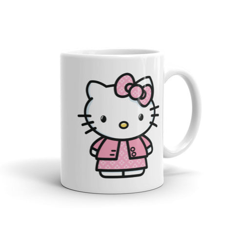 Cute Color Hello Kitty Custom Mugs 11 oz 15 oz Coffee Cups Dishwasher and Microwave Safe gift to kids friend | Mug