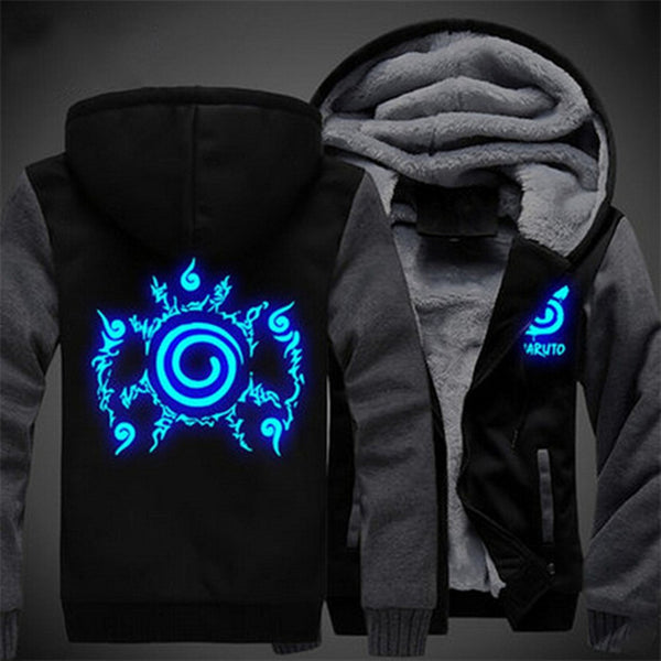 A Naruto Glow In The Dark Hoodie