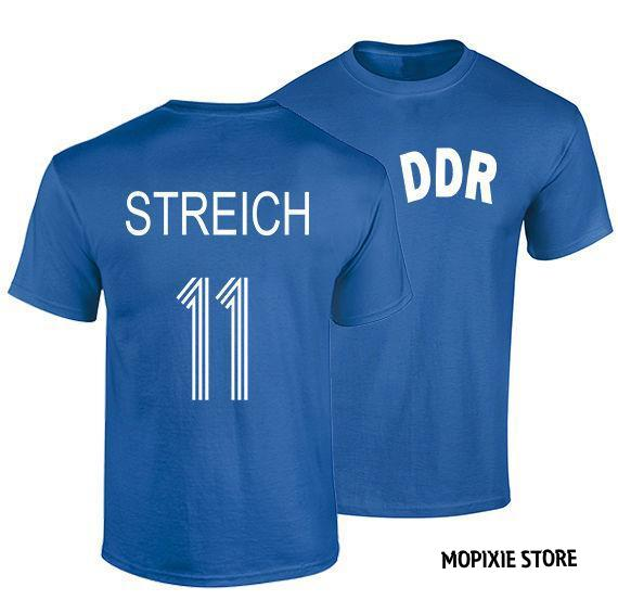 Joachim Streich S-XXL T Shirt DDR Germany Footballer Legend T-Shirts