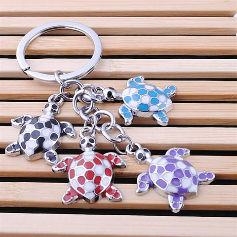 4 lovely turtles key chain | Key Chains