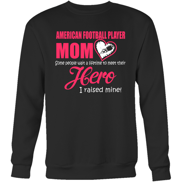 American Football Player MOM -  Sweatshirts