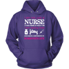 I Am Not Just A Nurse, I Take Pride In What I Do. I Am Saving Lives, And Making A Difference In Someones Life | T-shirt