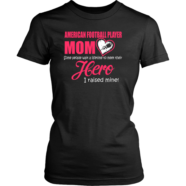 American Football Player MOM - Women's Shirts