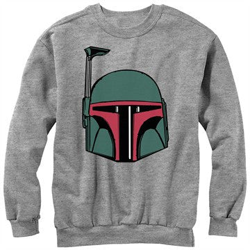 Star Wars Boba Helmet Sweatshirt