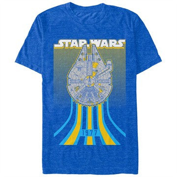 Star Wars Falcon Speed Heather T-Shirt