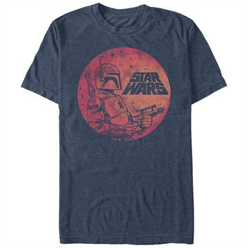 Star Wars Fett Circles T-Shirt