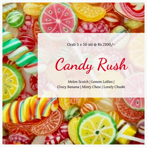 Candy Rush (Pack of 5)
