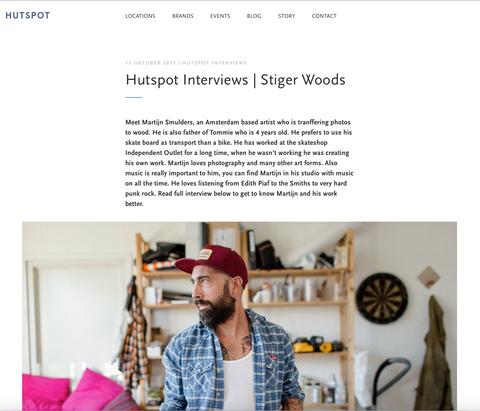 Hutspot Amsterdam interview