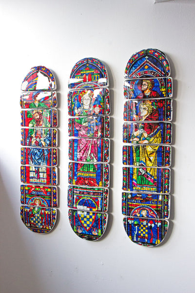 Cathedral skateboard deck 1 - stigerwoods - 2