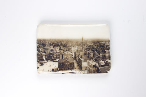 Amsterdam from Royal palace Dam square #2 (29cm x 20cm)