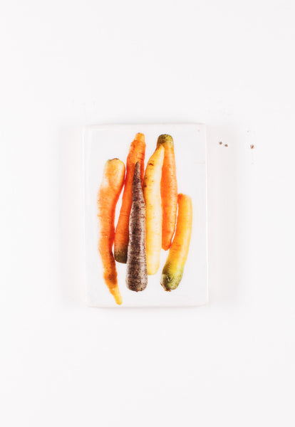 Coloured carrots (20cm x 29cm)