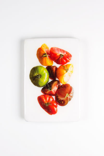 Coloured tomatoes (20cm x 29cm)