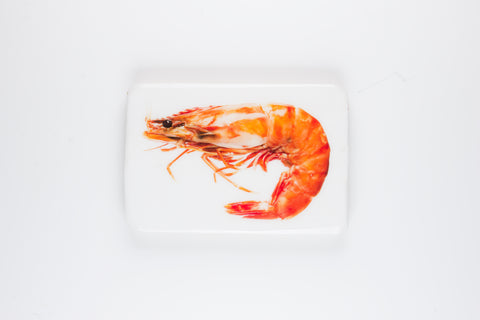 Cooked giant shrimp (29cm x 20cm)