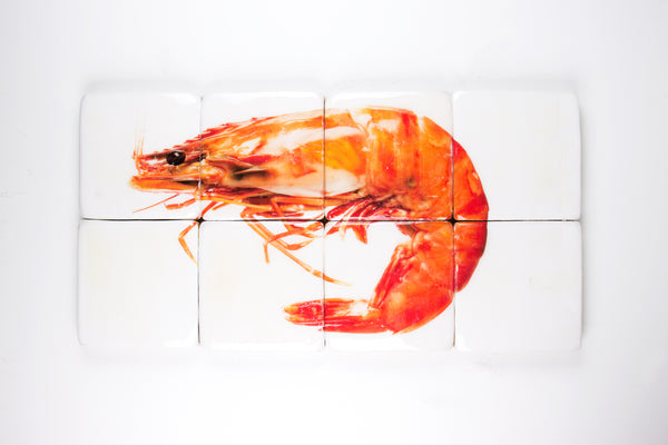 Cooked giant shrimp (80cm x 40cm)