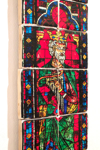 Cathedral windows (200cm x 175cm) - stigerwoods - 7
