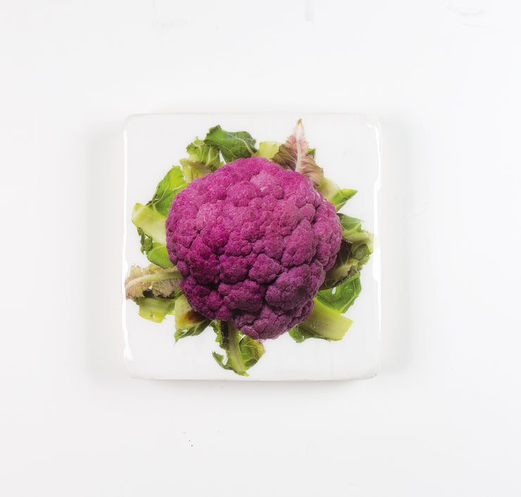 Purple cauliflower (20cm x 20cm)