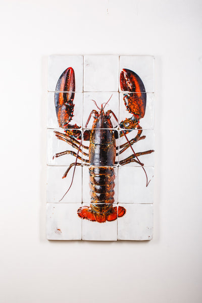 Canner lobster on ice (60cm x 100cm)