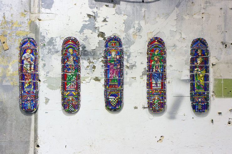 Cathedral skateboard deck 2 - stigerwoods - 6